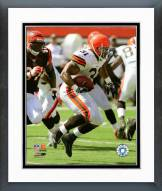 Cleveland Browns Jamal Lewis 2008 Action Framed Photo
