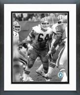Cleveland Browns Joe DeLamielleure Action Framed Photo