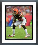 Cleveland Browns Joe Haden 2015 Action Framed Photo