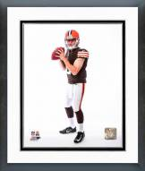 Cleveland Browns Johnny Manziel 2014 Posed Framed Photo