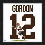 Cleveland Browns Josh Gordon Uniframe Framed Jersey Photo