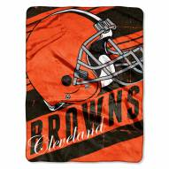 Cleveland Browns Livin' Large Blanket