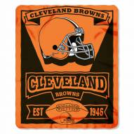Cleveland Browns Marque Fleece Blanket