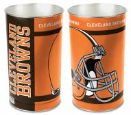 Cleveland Browns Metal Wastebasket