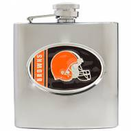 Cleveland Browns NFL 6 Oz. Stainless Steel Hip Flask