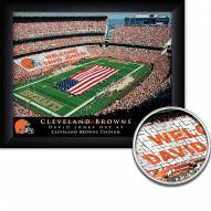 Cleveland Browns Personalized Framed Stadium Print