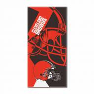 Cleveland Browns Puzzle Beach Towel