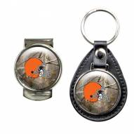 Cleveland Browns RealTree Key Chain & Money Clip