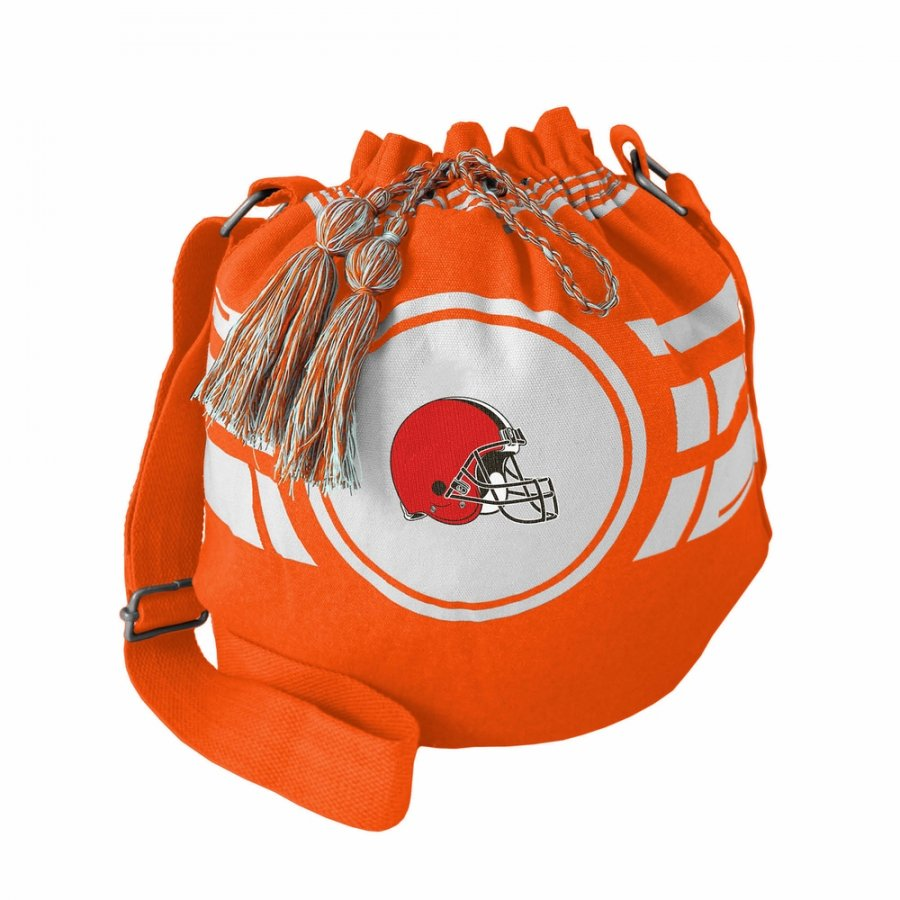 Cleveland Browns Ripple Drawstring Bucket Bag