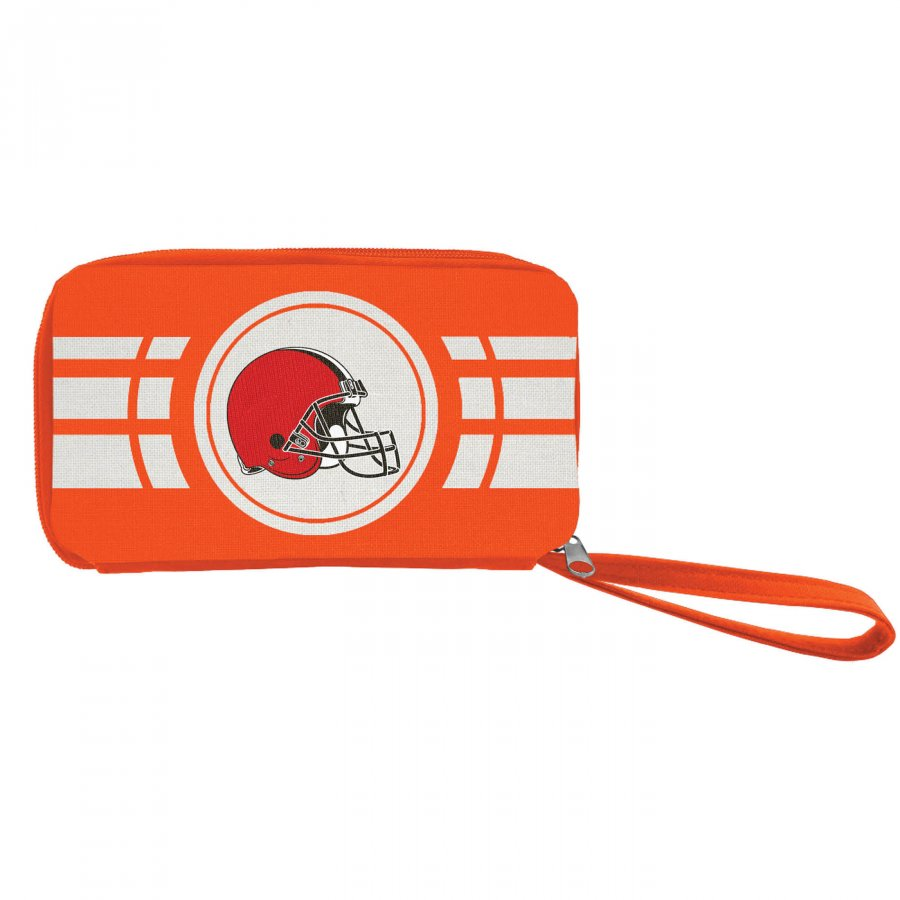 Cleveland Browns Ripple Zip Wallet