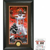 Cleveland Browns Robert Griffin III Supreme Bronze Coin Panoramic Photo Mint