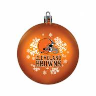Cleveland Browns Shatterproof Ball Ornament