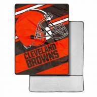 Cleveland Browns Sherpa Foot Pocket Blanket