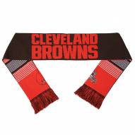Cleveland Browns Split Logo Reverse Scarf