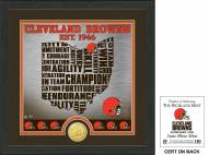 Cleveland Browns State Bronze Coin Photo Mint