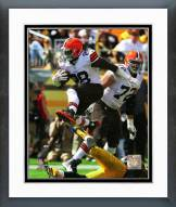 Cleveland Browns Terrance West 2014 Action Framed Photo