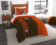 Cleveland Browns Twin Comforter & Sham Set