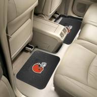 Cleveland Browns Vinyl 2-Piece Rear Floor Mats