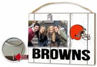 Cleveland Browns Weathered Logo Photo Frame