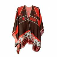 Cleveland Browns Whipstitch Poncho