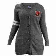 Cleveland Browns Women's Gray Varsity Cardigan