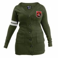 Cleveland Browns Women's Olive Varsity Cardigan