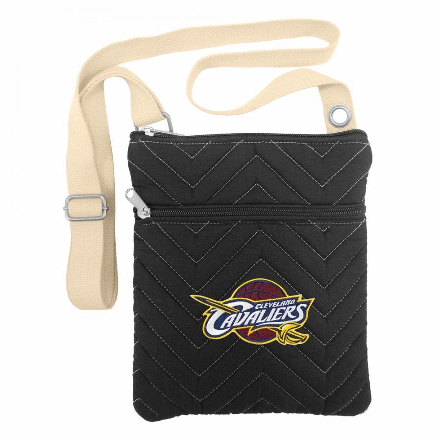 Cleveland Cavaliers Chevron Stitch Crossbody Bag