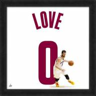 Cleveland Cavaliers Kevin Love Uniframe Framed Jersey Photo