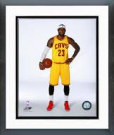 Cleveland Cavaliers LeBron James 2014 Posed Framed Photo