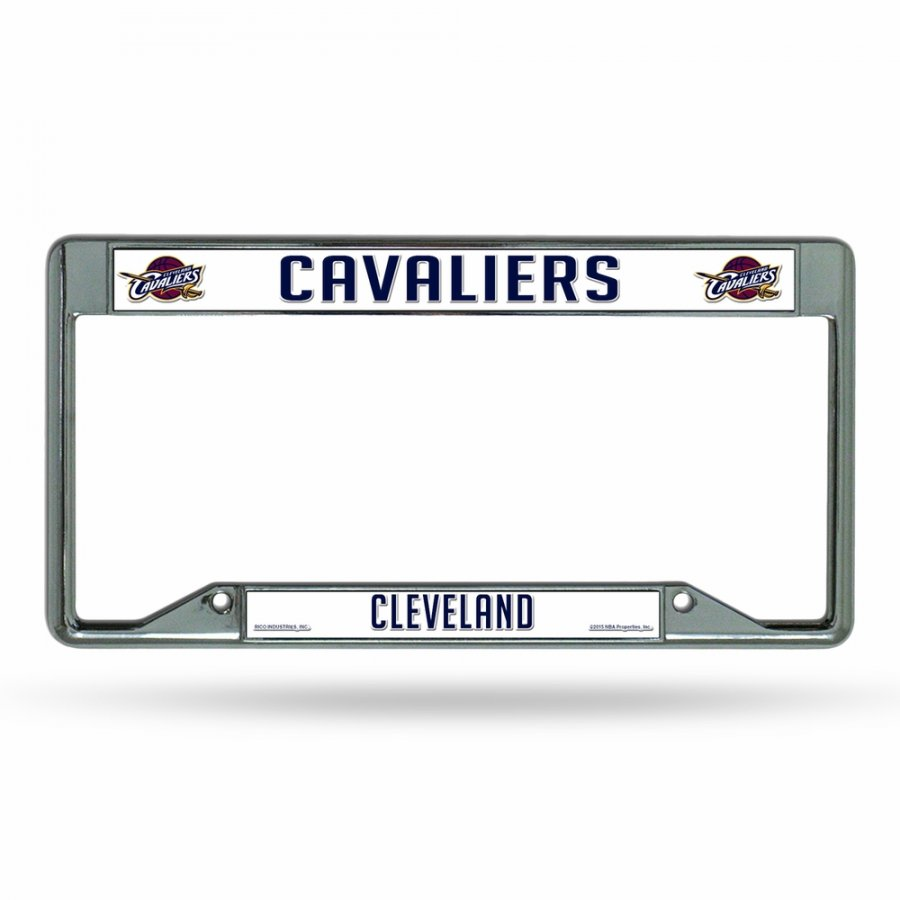 Cleveland Cavaliers Team Chrome License Plate Frame