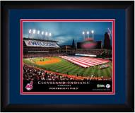 Cleveland Indians 13 x 16 Personalized Framed Stadium Print