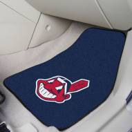 Cleveland Indians 2-Piece Carpet Car Mats
