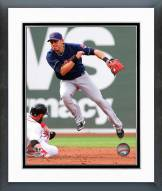Cleveland Indians Asdrubal Cabrera 2014 Action Framed Photo
