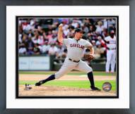 Cleveland Indians Bryan Shaw 2014 Action Framed Photo