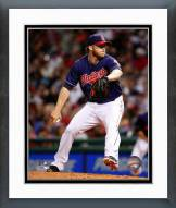 Cleveland Indians Cody Allen 2014 Action Framed Photo