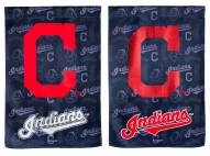 Cleveland Indians Double Sided Glitter Flag