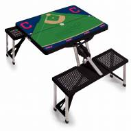 Cleveland Indians Folding Picnic Table