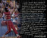 "Cleveland Indians Frank Robinson Story Signed 16"" x 20"" Photo"