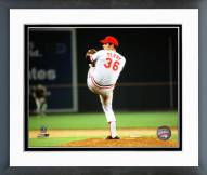 Cleveland Indians Gaylord Perry 1972 All-Star Game Action Framed Photo