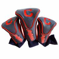 Cleveland Indians Golf Headcovers - 3 Pack