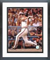 Cleveland Indians Joe Charboneau Action Framed Photo