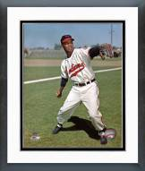 Cleveland Indians Larry Doby Posed Framed Photo