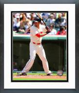 Cleveland Indians Lonnie Chisenhall 2014 Action Framed Photo