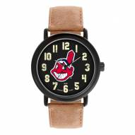 Cleveland Indians Men's Throwback Watch