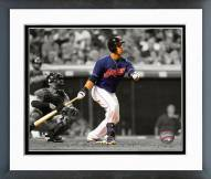 Cleveland Indians Michael Brantley 2014 Spotlight Action Framed Photo