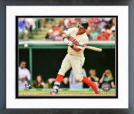 Cleveland Indians Michael Brantley 2015 Action Framed Photo