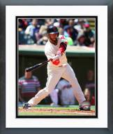 Cleveland Indians Mike Aviles 2014 Action Framed Photo