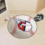 Cleveland Indians MLB Baseball Rug