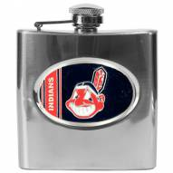 Cleveland Indians MLB 6 Oz. Stainless Steel Hip Flask