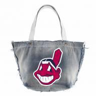 Cleveland Indians MLB Vintage Tote Bag
